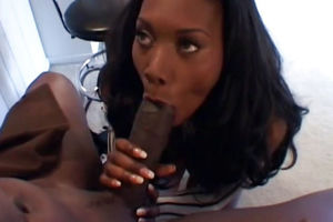 Gorgeous dark-hued housewife Nyomi..
