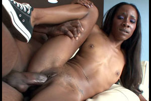 Thin black bi-atch Jayna was banged..