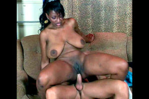 Bigtits dark-hued superslut gives her..